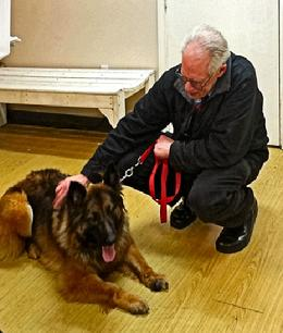 Westside German Shepherd Rescue, Eric Norberg, Sable, Mike Sullivan